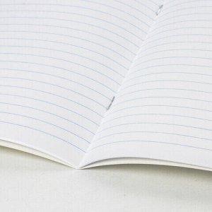 """Тетрадь 24 л. BRAUBERG """"ЭКО"""" линия, обложка плотная мелованная бумага, ЗЕЛЕНАЯ ПАСТЕЛЬНАЯ, 105681"""