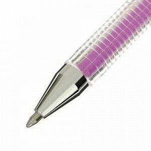 """Ручка гелевая CROWN """"Hi-Jell Pastel"""", ФИОЛЕТОВАЯ ПАСТЕЛЬ, 0,8 мм, линия письма 0,5 мм, HJR-500P"""