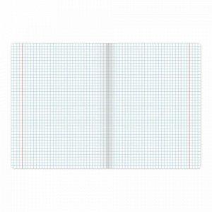 Тетрадь 24 л. BRAUBERG КЛАССИКА NEW клетка, обложка картон, АССОРТИ (5 видов), 105702