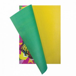 """Цветная бумага А4 газетная, 16 листов 8 цветов, на скобе, ПИФАГОР, 200х283 мм, """"Гномик на празднике"""", 121008"""