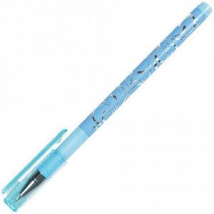 """Ручка шариковая BRAUBERG """"Узоры"""", СИНЯЯ, корпус с печатью ассорти, узел 0,7 мм, линия письма 0,35 мм, 141539"""
