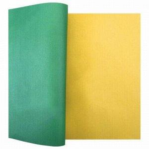 "Цветная бумага А4 газетная, 16 листов 8 цветов, на скобе, ПИФАГОР, 200х283 мм, ""Волшебная страна"", 129562"