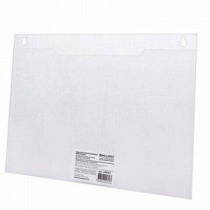 Подставка настенная для рекламных материалов ГОРИЗОНТАЛЬНАЯ (297х210 мм), А4, BRAUBERG, 290427