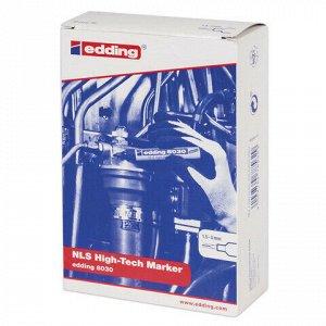 Маркер для промышленной маркировки EDDING 8030, СИНИЙ, 1,5-3 мм, антикоррозионный, круглый наконечник, E-8030/3