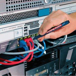 Маркеры для кабелей различных видов EDDING 8407 НАБОР 4 шт., АССОРТИ, 0,3 мм, E-8407/4S