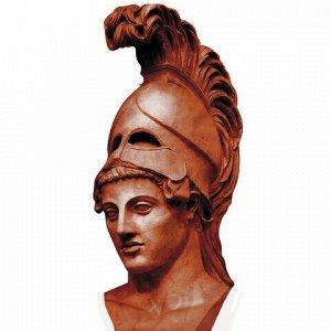 Пластилин скульптурный ОСТРОВ СОКРОВИЩ, терракотовый, 0,5 кг, твердый, 104818