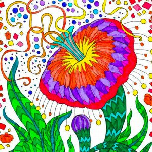 """Фломастеры ЮНЛАНДИЯ """"Подводный мир"""" (KOH-I-NOOR EXCLUSIVE), 30 цветов, трехгранные, 151615, 771002CJ24KS"""