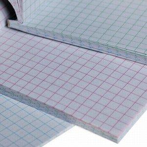 """Блокнот МАЛЫЙ ФОРМАТ (65х100 мм) А7, 48 л., склейка, цветной блок, клетка, HATBER, """"Фламинго"""", 48Б7В1к"""