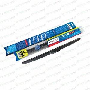 """Щетка стеклоочистителя Avantech Hybrid Plus 400мм (16"""") гибридная, с графитовым напылением, 1 шт"""