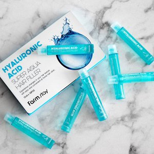 Farmstay Hyaluronic Acid Super Aqua Hair Filler Филлер с гиалуроновой кислотой 13мл(1шт)