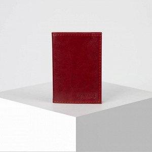 Визитница вертикальная, 1 ряд, 18 холдеров, цвет красный