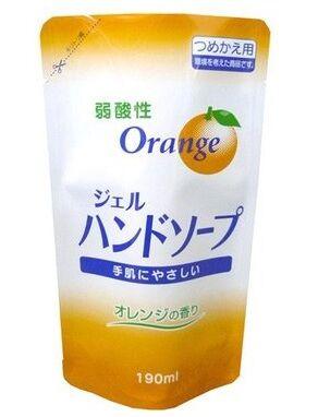 80049er Гель-мыло для рук с ароматом апельсина (сменная упаковка), 200 мл