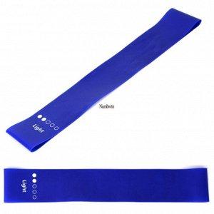 Фитнес-резинка, цвет синий