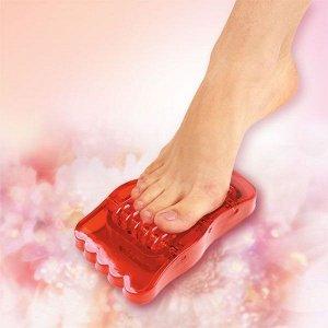Массажер Массажер роликовый  для стоп Массажер для ног оказывает рефлексогенное воздействие и массаж стоп, обеспечивает профилактику и лечение плоскостопия. Ускоряет кровообмен, снимает усталось. Спос