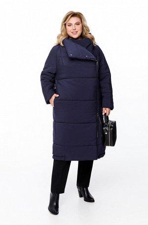 Пальто Пальто Pretty 1173 темно-синий  Состав ткани: ПЭ-100%;  Рост: 164 см.  Женское дутое пальто на синтепоне, предназначенное для эксплуатации в осенне-зимний период с температурой воздуха до -15