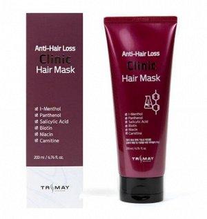 """Безсульфатная питательная маска против выпадения волос"""" Anti-Hair Loss Clinic Hair Mask"""