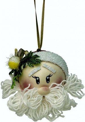 """Набор для творчества Новогодний шар из фоамирана """"Дед мороз"""