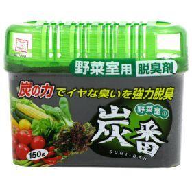 Поглотитель запахов для холодильника Kokubo Древесный Уголь (овощная камера), 150 г