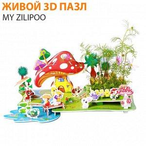 """Живой 3D пазл My Zilipoo """"Сельский пейзаж"""""""