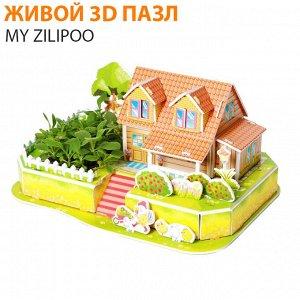 """Живой 3D пазл My Zilipoo """"Чудесный огород"""""""