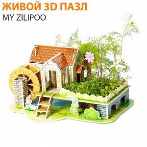 """Живой 3D пазл My Zilipoo """"Радужный домик"""""""