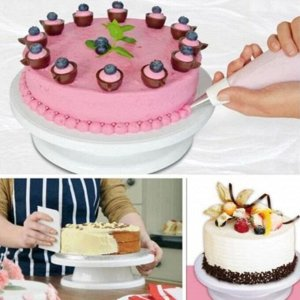 Вращающийся стол для украшения торта, в ассортименте