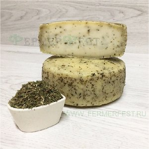 Сыр Качотта с чабером кг, кг