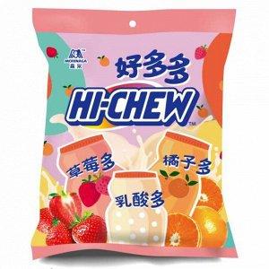 Жевательные конфеты Morinaga Hi-Chew фруктовое ассорти, 110 г (Япония)