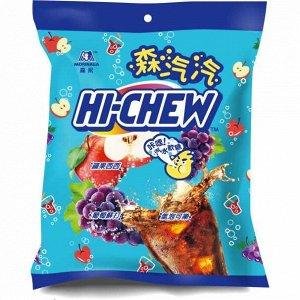 Жевательные конфеты Morinaga Hi-Chew со вкусом винограда, 110 г (Тайвань)
