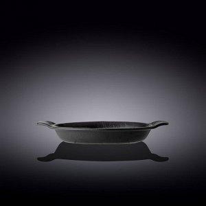 WILMAX SLATESTONE Форма для выпечки 28х22,5см, цв.черный WL-661143 / A