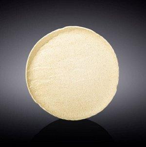 WILMAX SANDSTONE Тарелка круглая 18см, цв.песочный WL-661323/A