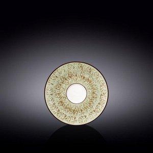 WILMAX SPLASH Тарелка десертная 14см, цв.фисташковый WL-667135 / B