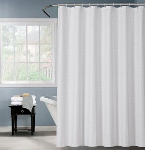 "Штора для ванной ""Элит"" 180х180см, цв.белый  FOR-PH100"