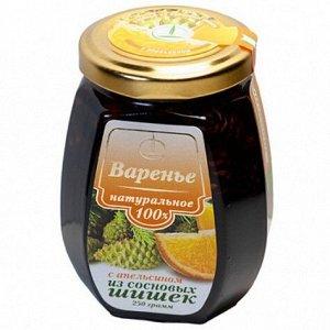 Варенье из шишки с апельсиновыми цукатами 250 г ст./банка