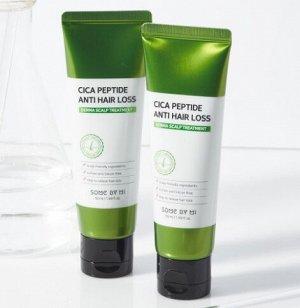 Укрепляющая маска для волос с центеллой и пептидами Cica Peptide Anti Hair Loss Treatment