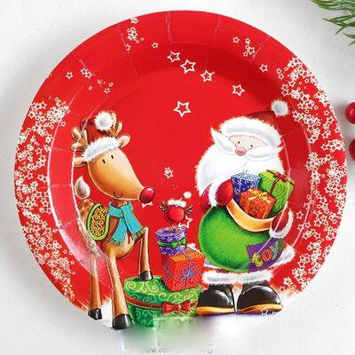 Большие скидки от поставщика 🏷🏷🏷 Заколки   Э — Новогодние тарелки  — Тарелки