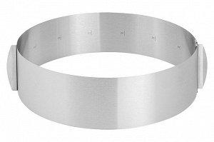 Форма круг для торта регулируемая 16-28 см
