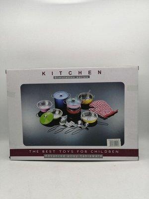 Кухонный набор метал  10 предметов 3+