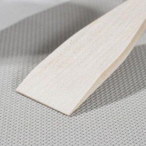 Лопатка Доляна «Доляна», берёзовая, 21,6 см