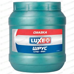 Смазка пластичная LUXE Шрус-4, многоцелевая, водостойкая, с дисульфидом молибдена, банка 850 г