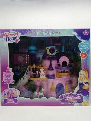 Кукольный домик с наполнением 3+