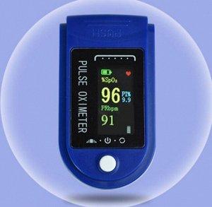Пульсометр на палец / Оксиметр / Пульсиметр / Пульсометр/ Измеритель сатурации кислорода в крови