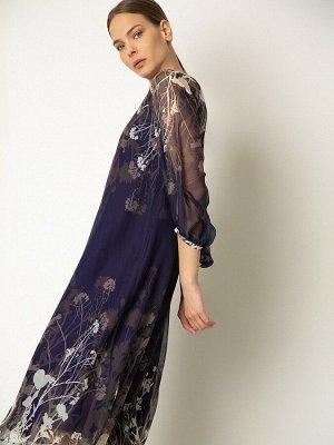 Шифоновое платье А-силуэта PL1001/maison