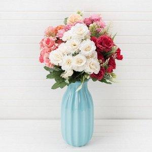 Букет розы пионовидной*10в h-40см