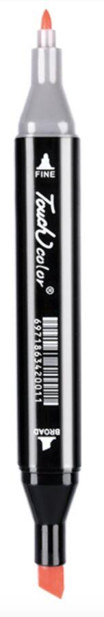 Маркеры для скетчинга Touchcolor маркер 204 цвета  двусторонние