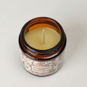 """Свеча в банке ароматизированная """"Чайное дерево"""", время горения 15 ч"""