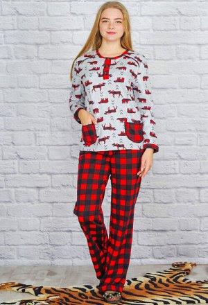 """Пижама """"Нюша"""", принт"""