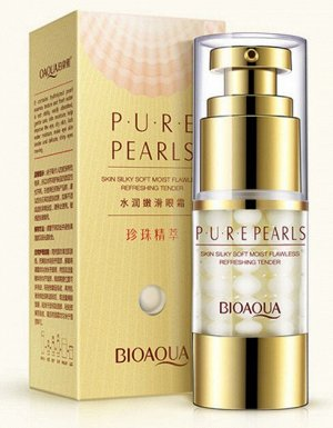 *Омолаживающий крем с жемчугом BioAqua Pure Pearl