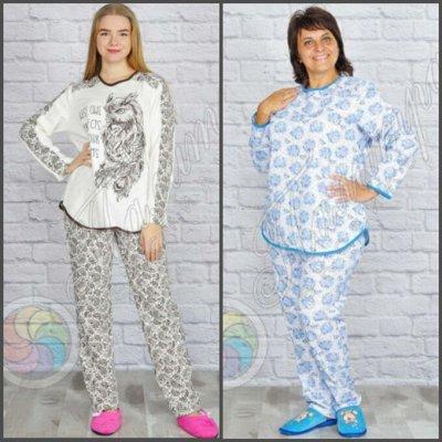 Палитра⭐Трикотаж для всей семьи❗️Текстиль для дома❗️  — Пижамы Женские — Сорочки и пижамы