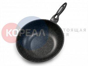 Сковорода Ecoramic IH 28 см вок c антипригарным покрытием без крышки